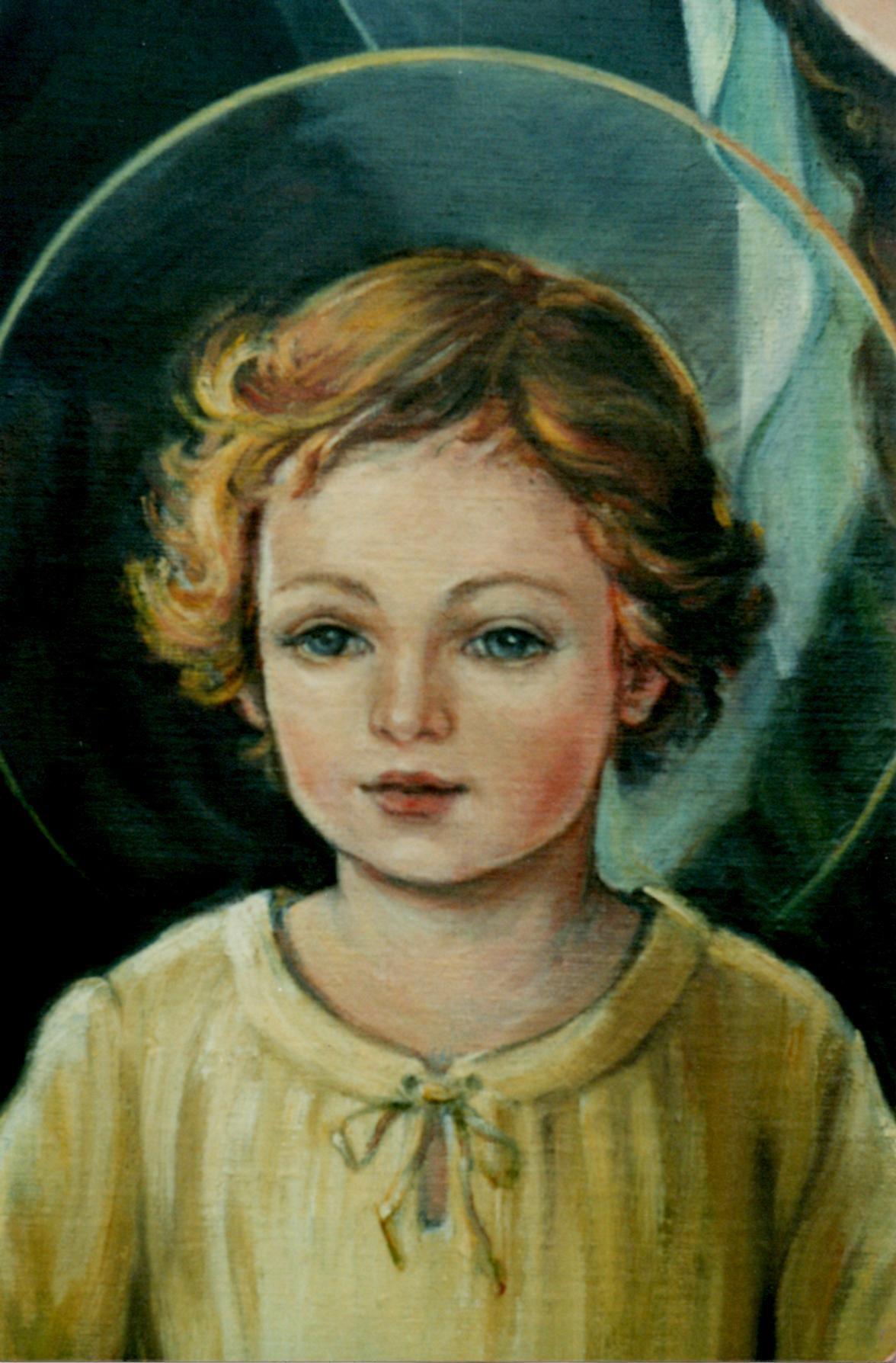 Przeglądasz zdjęcia z galerii: Obraz Jezusa Króla - Daniela Pocenta