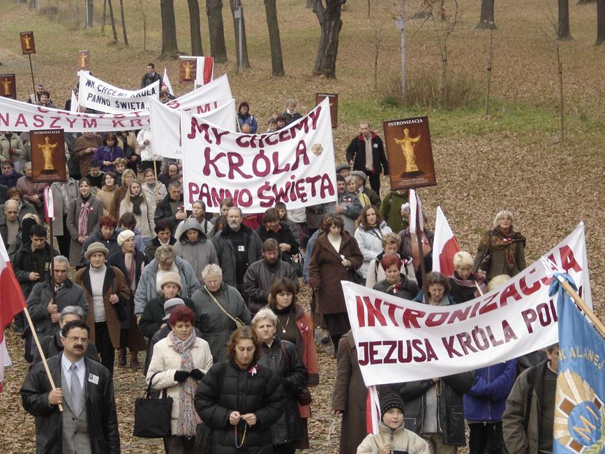 Przeglądasz zdjęcia z galerii: Pielgrzymka do Kalwarii Zebrzydowskiej, 2005