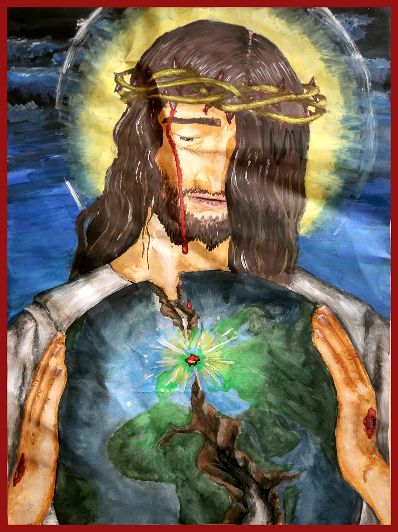 Przeglądasz zdjęcia z galerii: Konkurs Jezus Chrystus naszym Królem 2018
