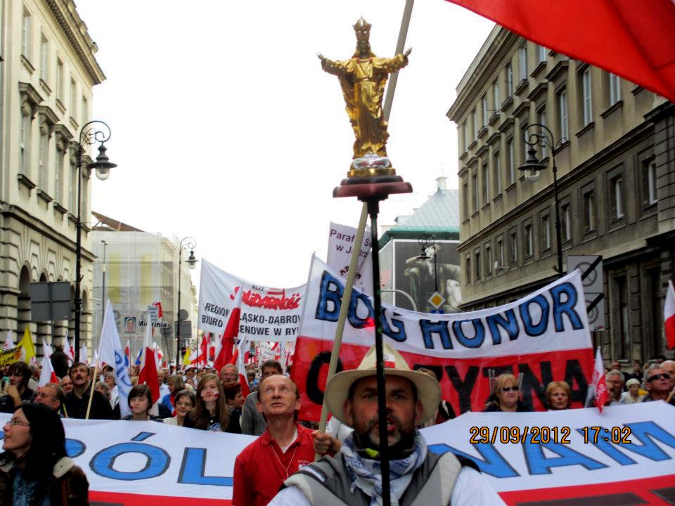 Przeglądasz zdjęcia z galerii: Obudź się Polsko! -galeria zdjęć