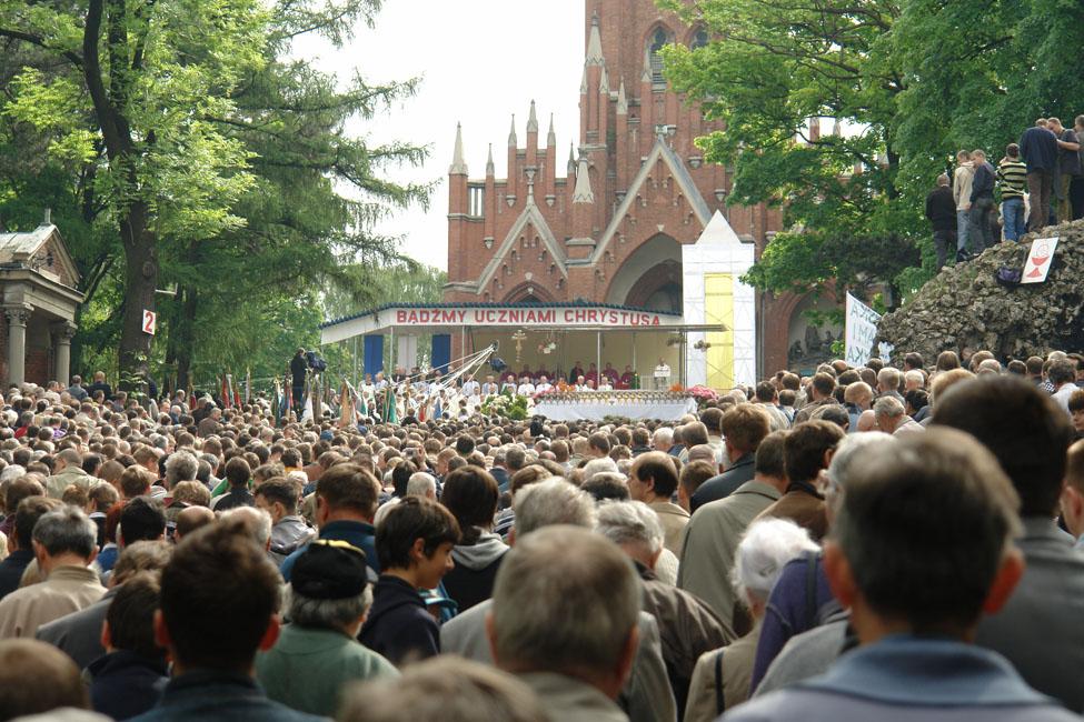 Przeglądasz zdjęcia z galerii: Z wizytą u Matki Bożej Piekarskiej, 2008