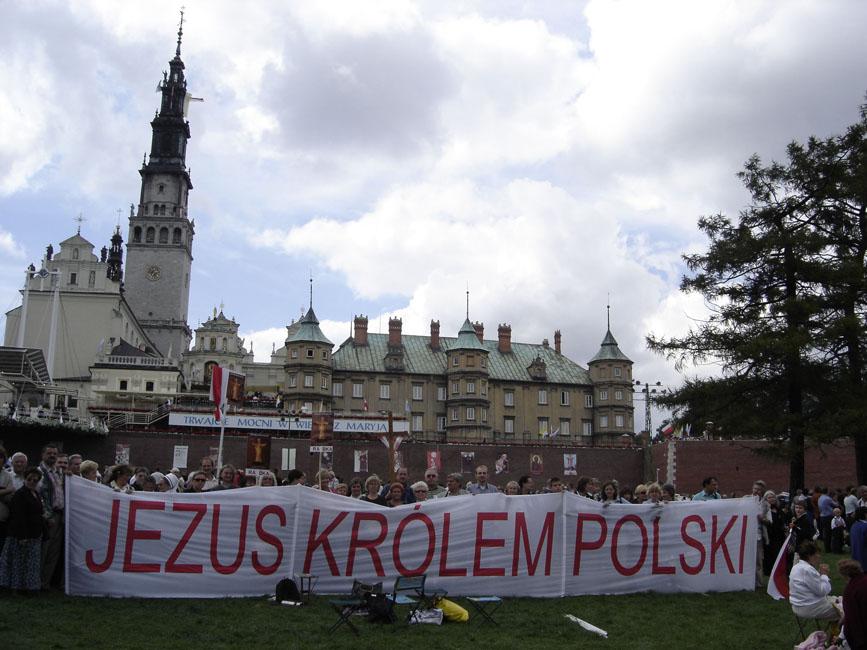 Przeglądasz zdjęcia z galerii: Pielgrzymka do Matki Bożej Królowej Polski, 2006